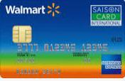 ウォルマートカード セゾン・アメリカン・エキスプレス・カードの審査基準は?取得できるクレヒス修行期間と属性は?西友で必ず割引でお得☆ポイントや付帯サービスの評判や口コミは?